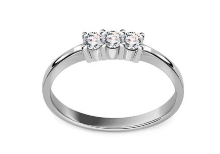 Engagement Ring with Diamonds 0,170 ct Lexis