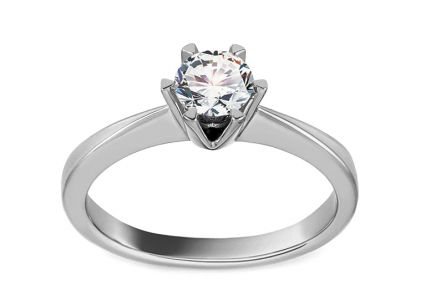 Engagement Ring with Fascinating Half Carat Diamond 0.500 ct Arella 2