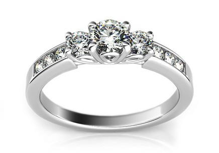 Luxurious Engagement Ring with Diamond 0,500 ct Marissa 2