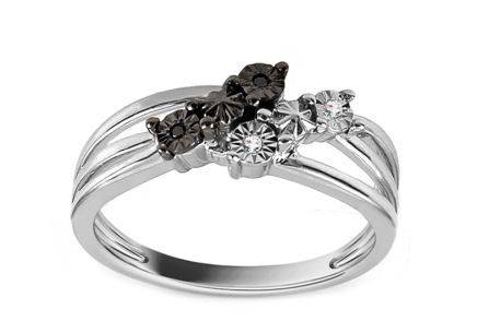 Luxury Ring with 0,020 ct Diamonds PRIMA VERA 6