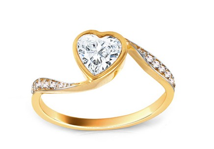 Gold Engagement Ring Anabel 4