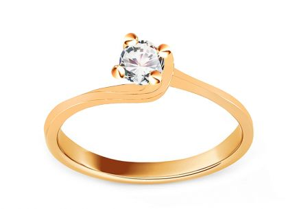 Gold Engagement Ring Grace 2