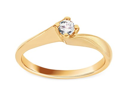 Gold Engagement Ring Grace 6