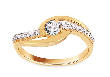 Gold Engagement Ring Isarel 8