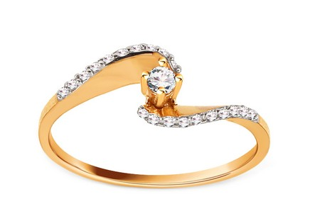 Gold Engagement Ring Pretty 12