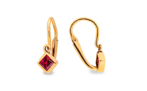 Gold Earrings for Babies - 1-236-0530C