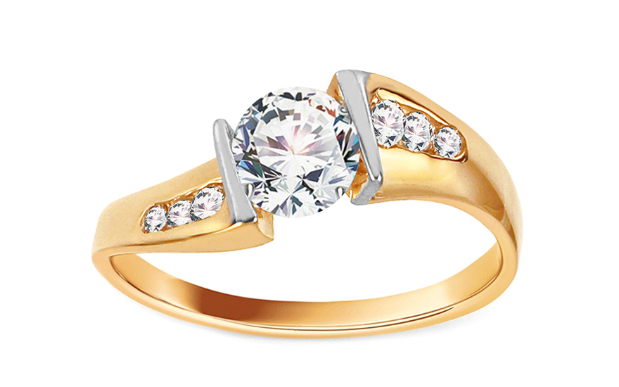 Gold Engagement Ring Isarel 12 - CSRI246