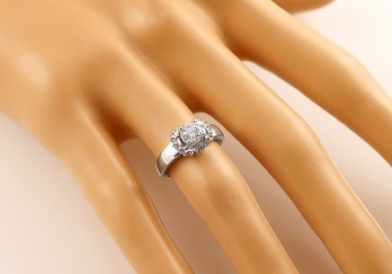 Gold Engagement Ring Isarel 27 - CSRI715A