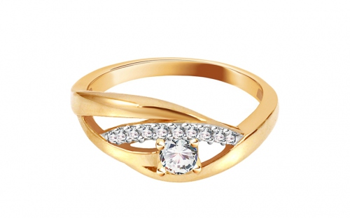 Gold Engagement Ring Isarel 9 - CSRI990