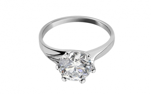 Gold Engagement Ring Nice - CSRI597A