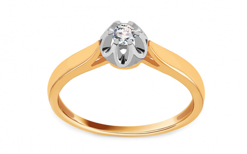 Gold Engagement Ring Ramona 6 - CSRI928