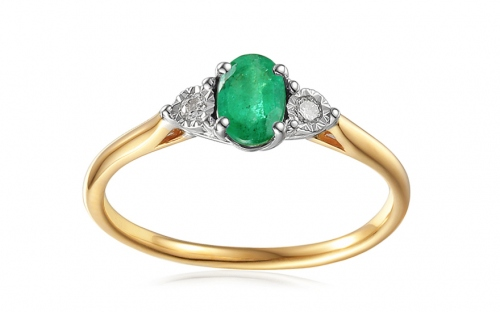 Engagement Rings - Emerald