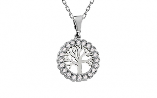 Gold Pendant Tree of Happiness - IZ11049AM