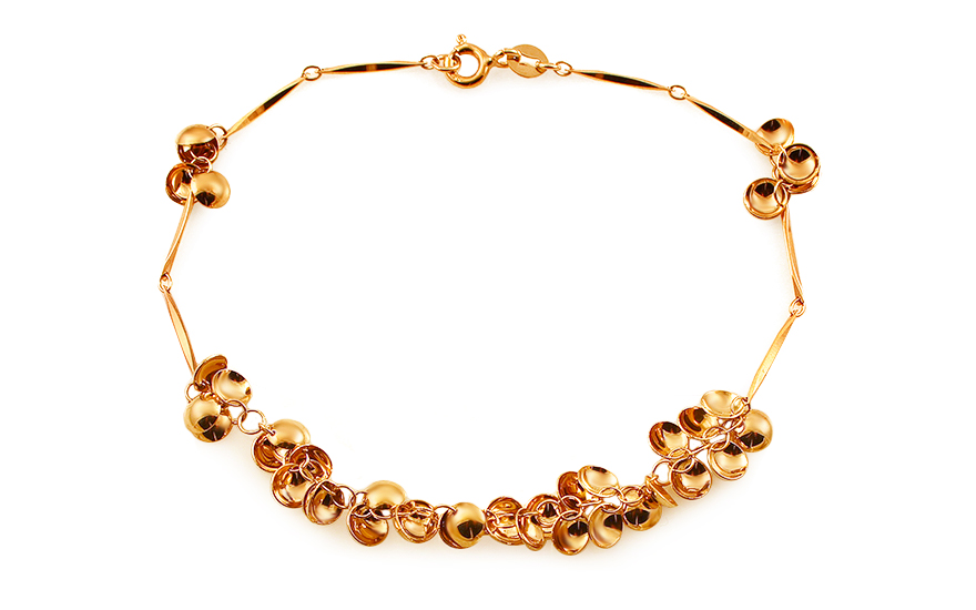 Fancy Ladies Gold Bracelet - IZ1876