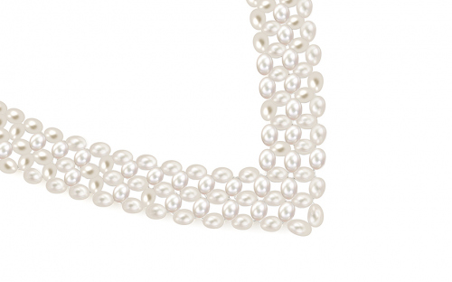 Ladies pearl necklace - IS123