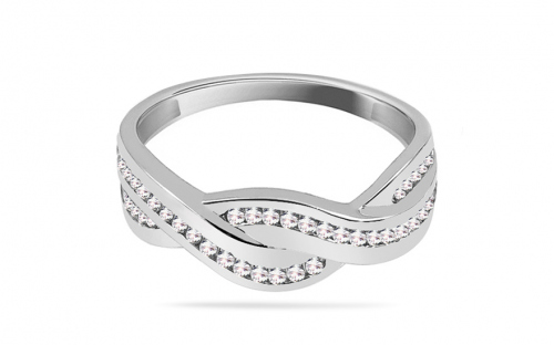 Ladies ring with cubic zirconia - CS9RI1515A