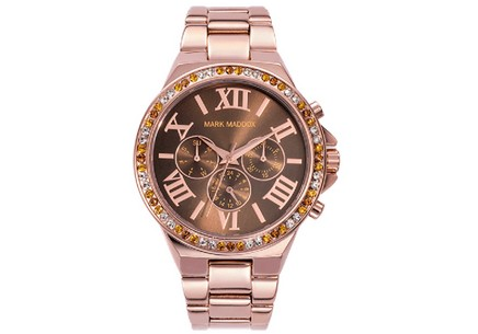 Ladies Watch Mark Maddox Pink Gold MM0013-43
