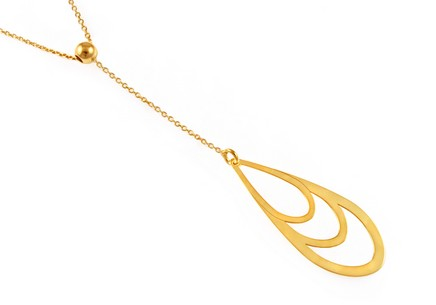 Gold plated Sterling Silver Necklace for Ladies