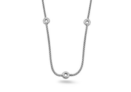 Sterling Silver Women's Necklace Wheels