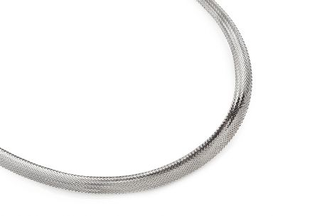 White gold women's necklace Flexi collection