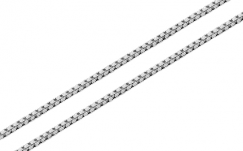 Silver Cube chain - 1.5 mm - IS3942