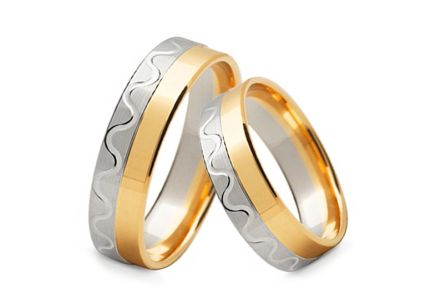 4mm/0.16'' Engraved Wedding Bands