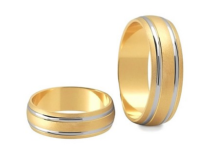 6mm/0.24'' Matte Wedding Bands