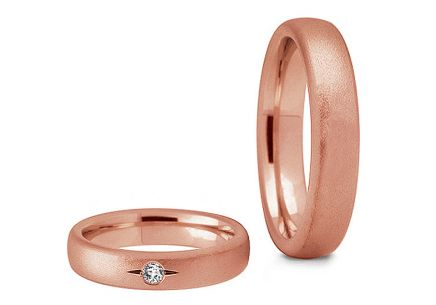 Wedding rings with stones width 3 to 8 mm