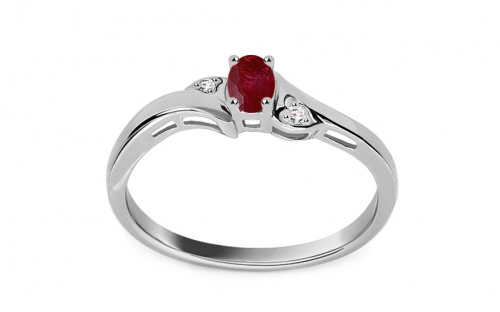 Engagement Rings - Ruby